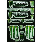 Kit Autocolantes Monster
