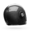 Capacete BELL Bullitt Carbon Gloss White Carbon Pierce