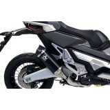 "Escape ARROW Race-Tech Alumínio ""Dark"" com Terminal Carbono 'Short Version' Honda X-ADV 750 2017/2018"